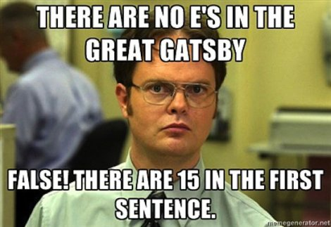 Dwight-meets-Great-Gatsby